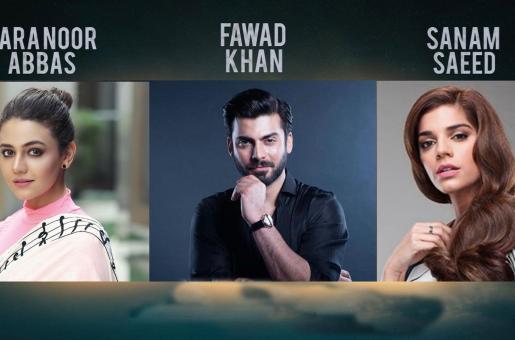 Fawad Khan, Sanam Saeed and Zara Noor Abbas to Share Screen in Haseeb Hasan's Next film 'Aan'