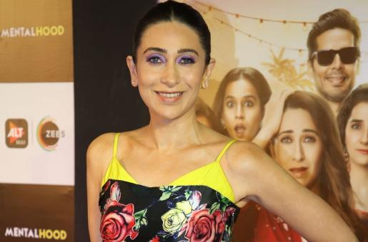 Karisma Kapoor Makes a Bold Statement In Red