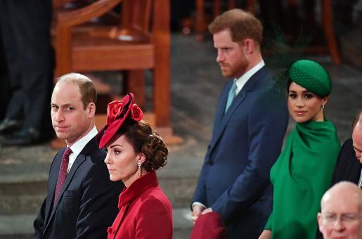 Prince William and Kate Middleton Send Out Mixed Signals for Prince Harry and Meghan Markle