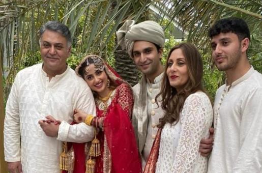 Sajal Aly and Ahad Raza Mir Get Married in Abu Dhabi