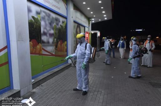 Coronavirus in UAE: Sterilization Drive and Military Exercises Taking Place in UAE