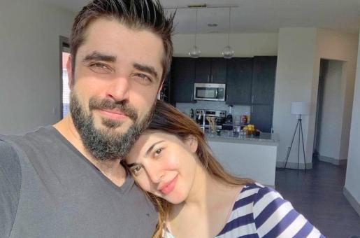 Hamza Ali Abbasi and Naimal Khawar Have Fun Setting up Their Home in Dallas