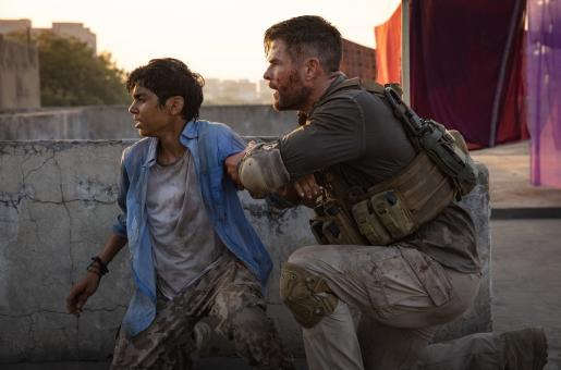 Meet Chris Hemsworth's Young Indian Co-star in Extraction