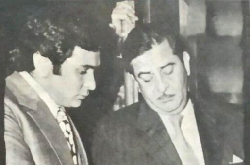 Rishi Kapoor and Raj Kapoor: A Memorable Duo for Movies