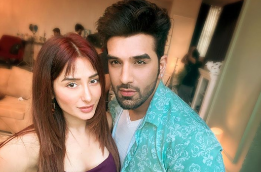Bigg Boss 13: Paras Chhabra and Mahria Sharma record a song from their homes