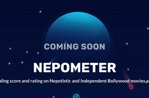 This app will be rate Bollywood movies on their level of Nepotism