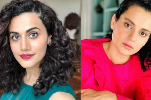 Taapsee Pannu responds to Kangana Ranaut: 'You are fighting for outsiders and simultaneously pulling down other outsiders'