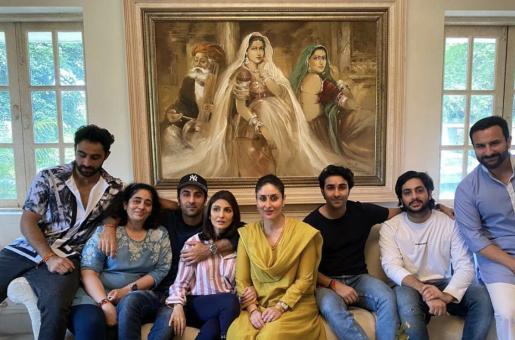 Kareena Kapoor Khan hosts a family reunion lunch