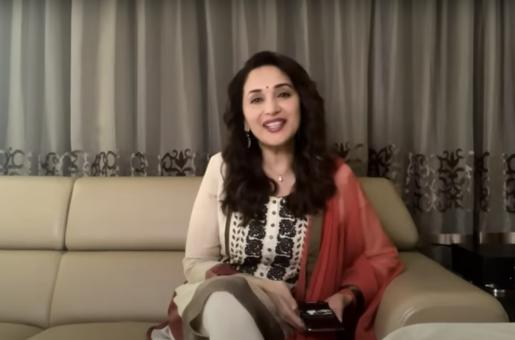 Madhuri Dixit celebrates 36 years in Bollywood