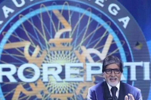 Amitabh Bachchan is back at work as he shares photos from his Grand KBC 12 shoot