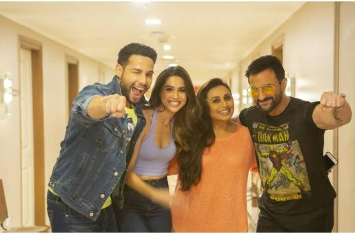 Rani Mukerji, Saif Ali Khan finish filming Bunty Aur Babli 2