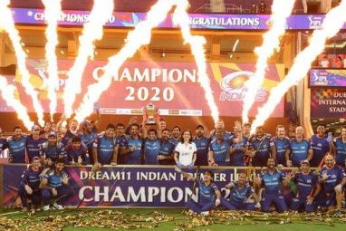 Mumbai Indians beat Delhi Capitals in finals to win IPL 2020 season in Dubai as Ambanis watch on
