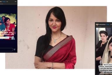 Actress Leena Acharya passes away from kidney failure