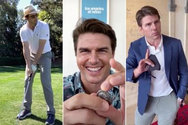 Shocking videos of Tom Cruise acting crazy go viral. Watch him go nuts.