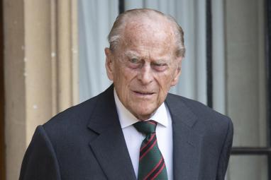Prince Philip is 'slightly improving'