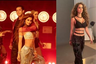 Disha Patani's sizzling hot look for the song Seeti Maar is her best outfit yet