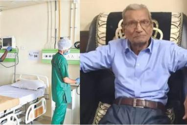 """Dying 85-year-old man says """"I have already lived my life"""" before giving up his ICU bed for a younger man"""