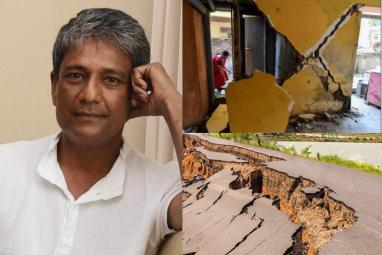 Actor Adil Hussain tweets about tremors felt in Assam: A magnitude of 6.4 struck the state