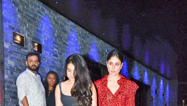 Star Spotting: Kareena Kapoor Looks Red Hot as She Steps Out for Dinner, Janhvi Kapoor-Ishaan Khatter Continue With 'Dhadak' Promotions and Karan Johar-Alia Bhatt Make a Splash at the Airport
