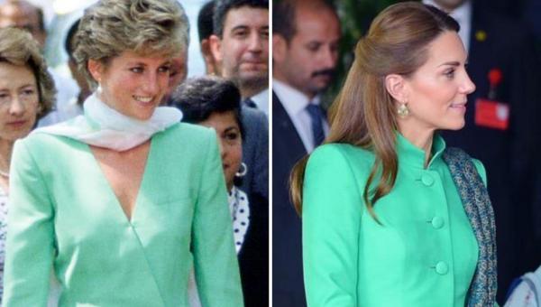 Kate Middleton Channels Princess Diana on Day One of Royal Visit Pakistan