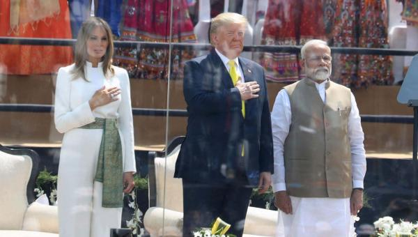 In Pictures: US President Donald Trump Visits India