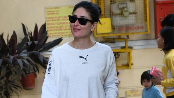 Kareena Kapoor Keeps It Casual in Laid Back Look
