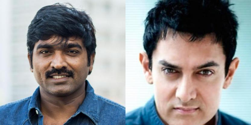 Vijay Sethupathi and Aamir Khan to Collaborate For a Film?