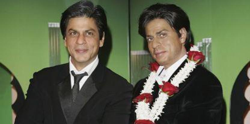 Shah Rukh's wax statue goes to Hollywood