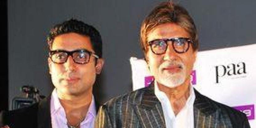 Amitabh, Abhishek signed TV deals on same day