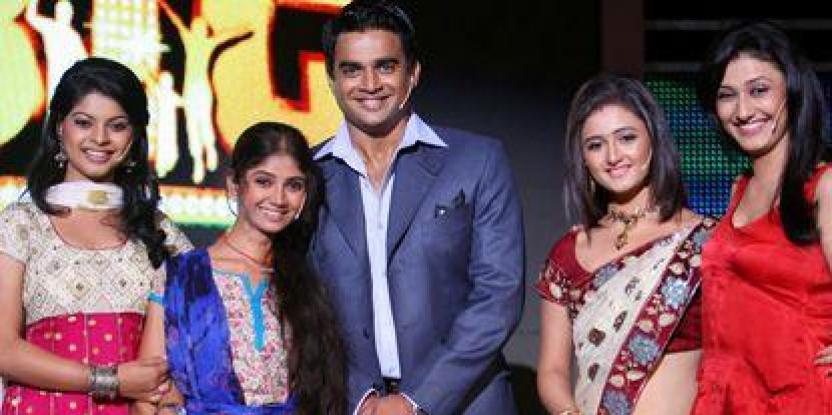 TV stars get flirting and dancing with Madhavan