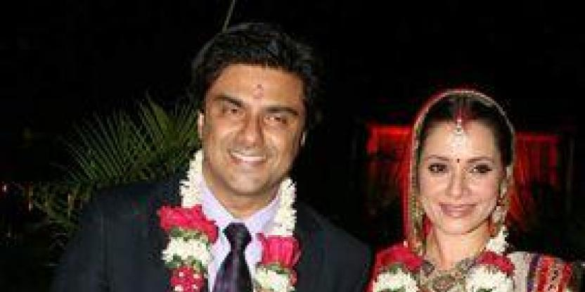 Samir Soni and Neelam's dream wedding