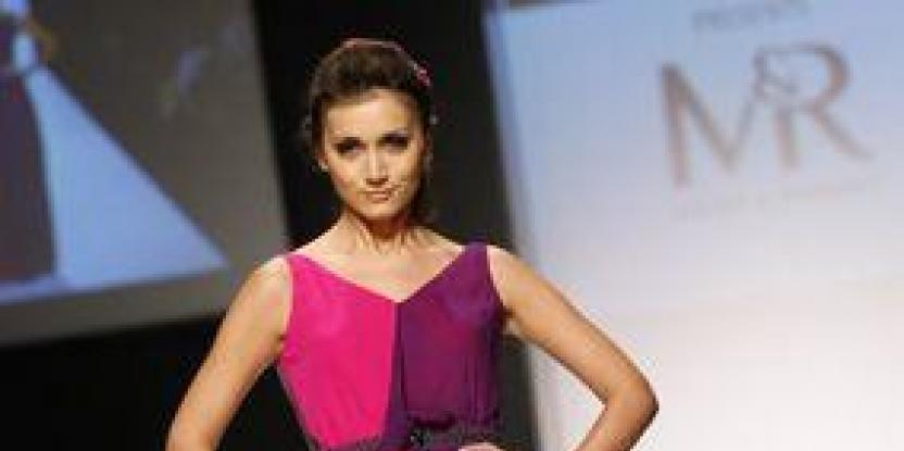 Meher and Riddhima @Dubai Fashion Week