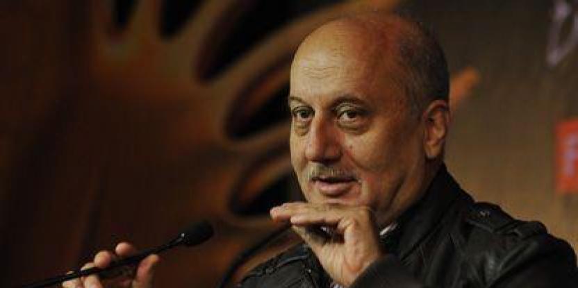 Anupam Kher at war with 'Gandhi To Hitler' producers
