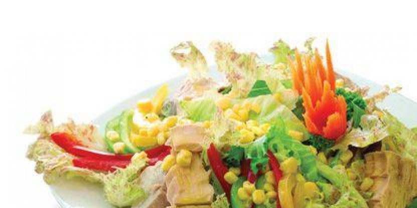 Poached Tuna Salad