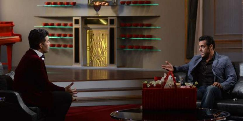 Salman Khan Talks about Ranbir Kapoor, Katrina Kaif and Shah Rukh Khan on Koffee with Karan