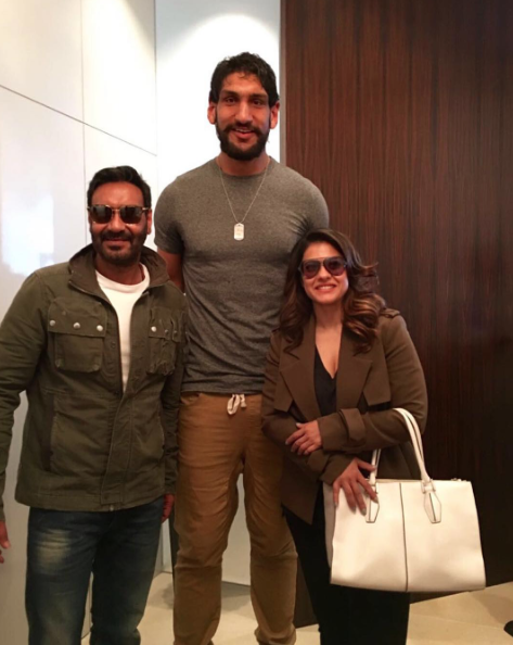 'There Was a Wall Between Kajol and Me': Ajay Devgn on Meeting Indian Basketball Player Satnam Singh Bhamara in the US