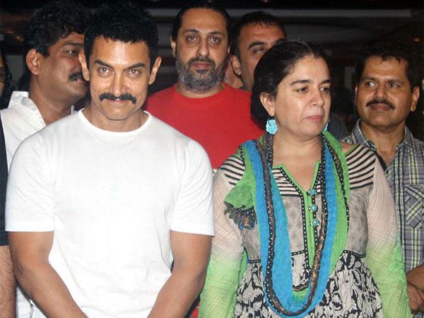 Watch: Aamir Khan Rings in Ex-Wife Reena Dutta's 50th Birthday