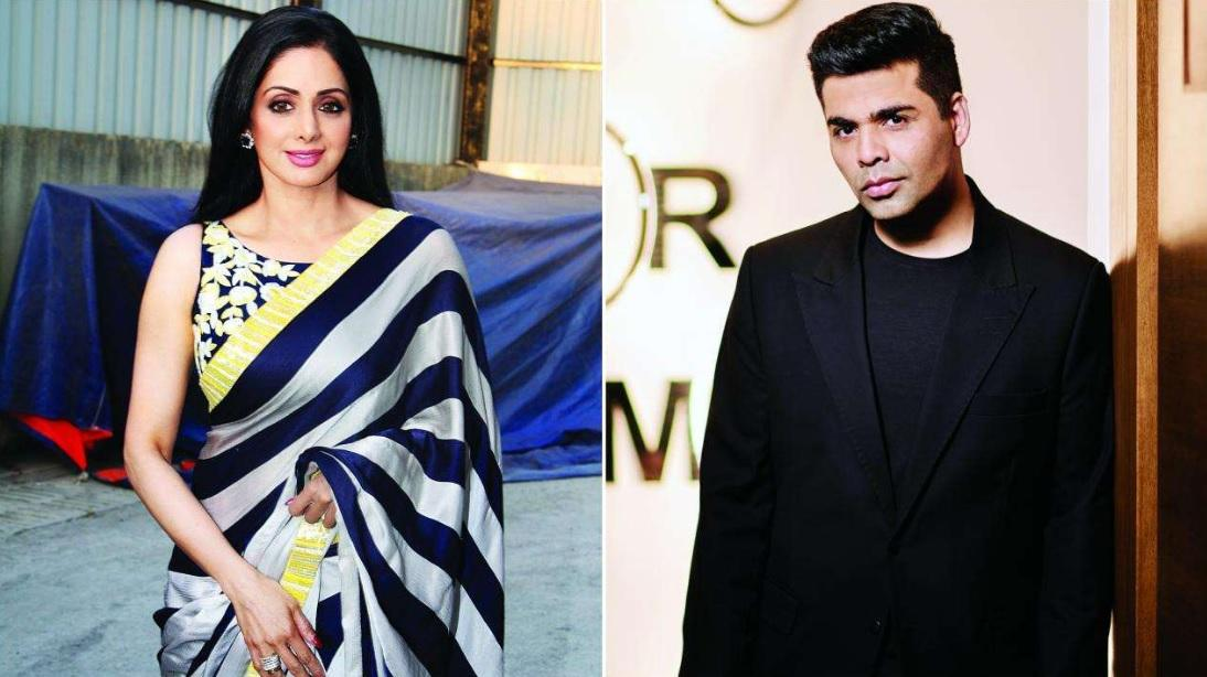 Did You Know Sridevi Was Going to Start Shooting for Karan Johar's Film This April
