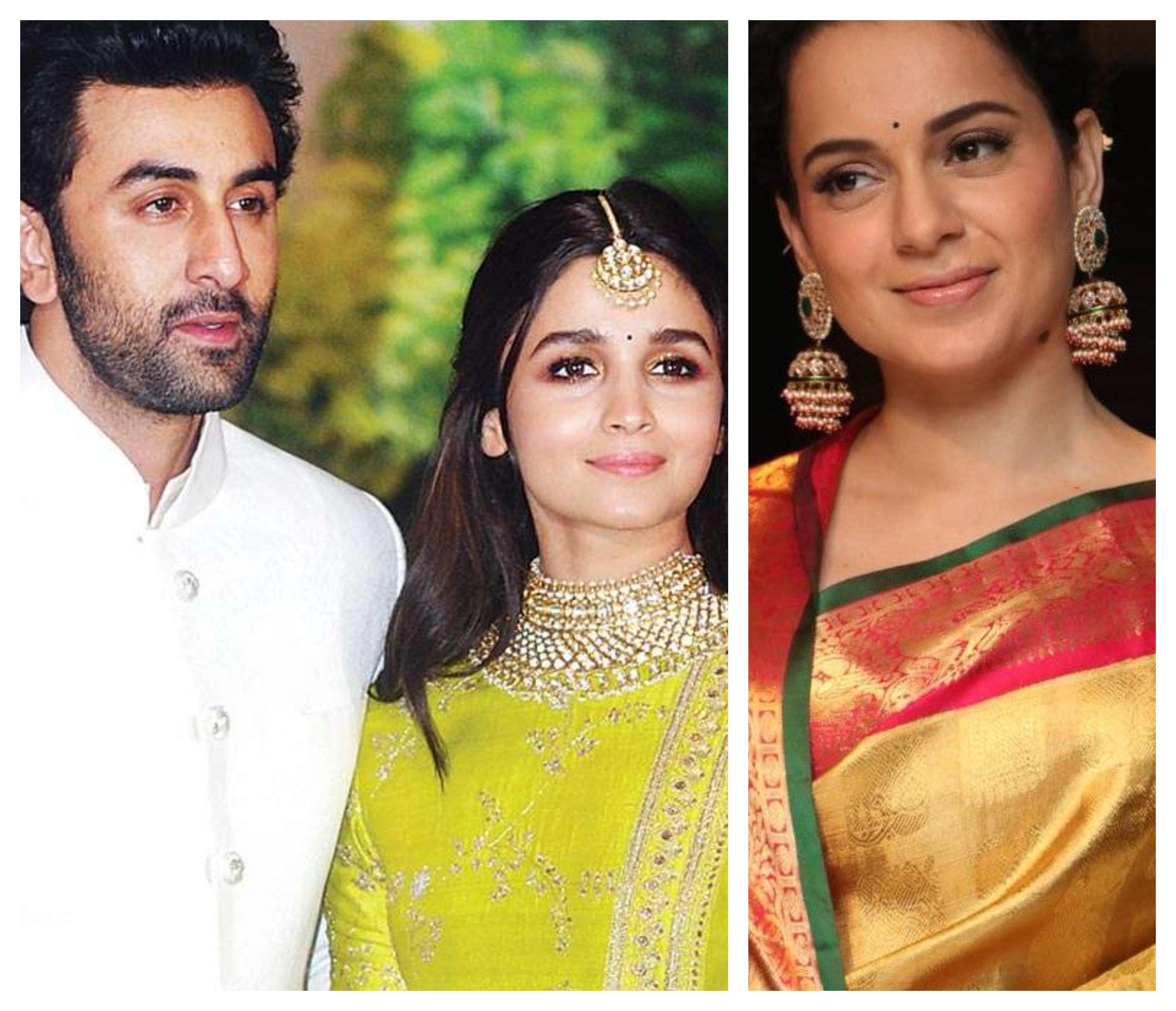 Kangana Ranaut Slams Ranbir Kapoor and Alia Bhatt Again. Social Media Reacts