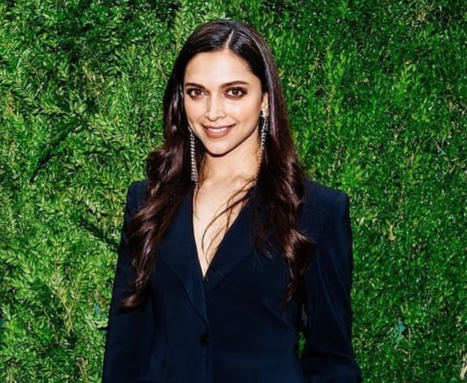 Deepika Padukone Shows Off Her Stylish Figure In Killer Pant Suit