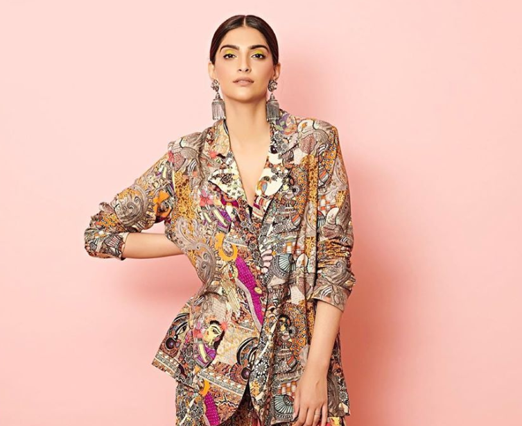 Sonam Kapoor Redefines Bold Print in Her Latest Look