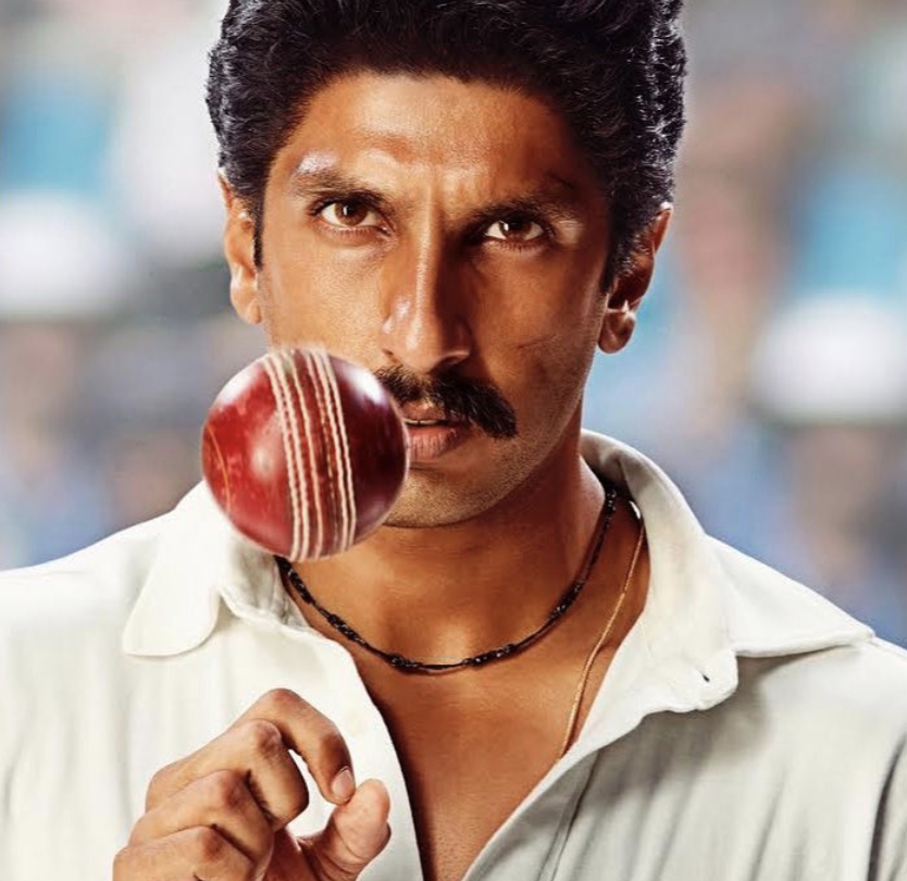 Ranveer Singh's first look as Kapil Dev for '83 is here and the Internet is Going Crazy!