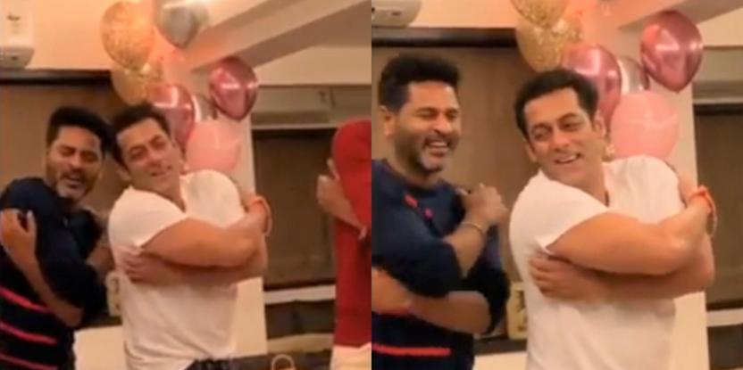 Salman Khan Busts Some Moves With Celebrity Choreographer Prabhu Deva in Latest Video