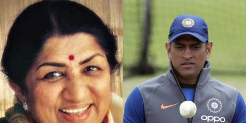 Lata Mangeshkar Writes Heartfelt Post Asking Cricketer MS Dhoni to Not Retire