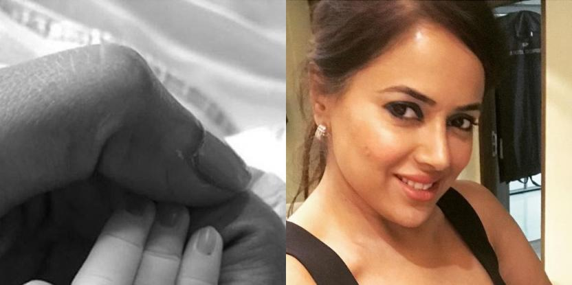 Bollywood actress Sameera Reddy Blessed with Baby Girl