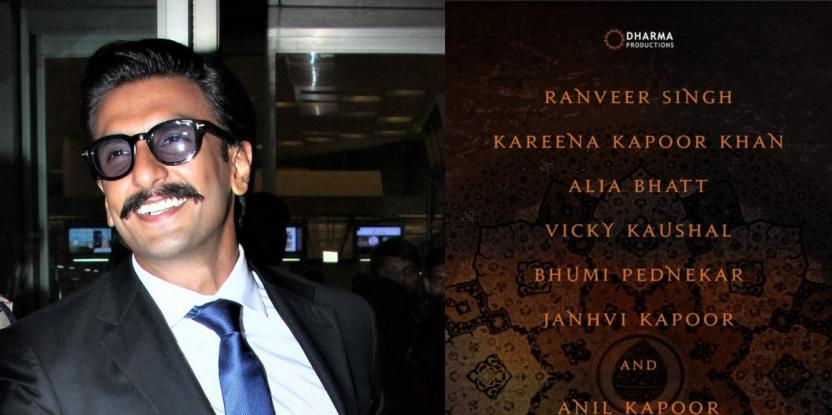 Ranveer Singh Opens Up On His Role In Karan Johar's Takht: Details Here