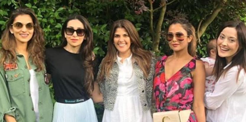 Karisma Kapoor, Amrita Arora Set Out to Serve Some Serious BFF Goals in Lit London!