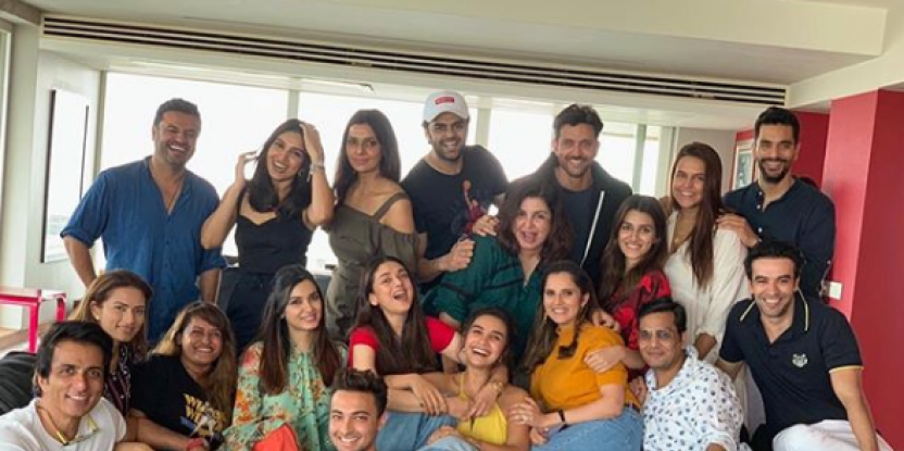 Hrithik Roshan, Kriti Sanon, Sania Mirza and Other B-Town Celebs Attend Filmmaker Farah Khan's Party