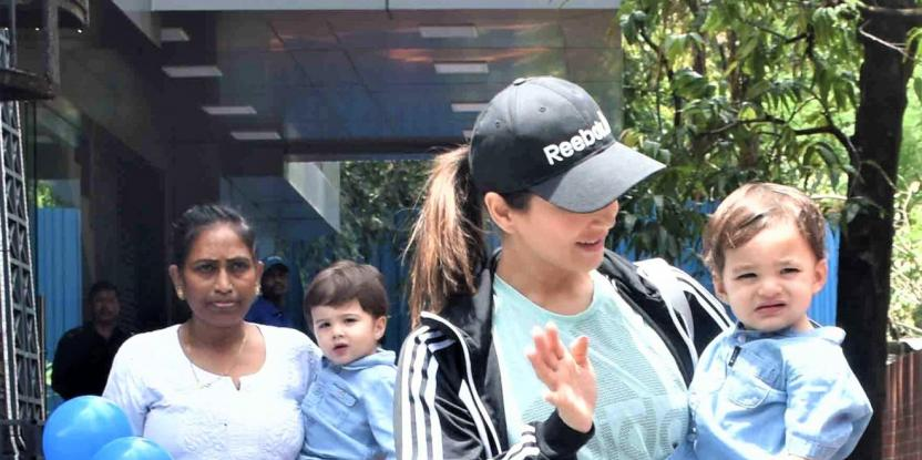 Sunny Leone Admits to the Similarity Between Her Son Asher and Kareena Kapoor Khan's Son Taimur Ali Khan