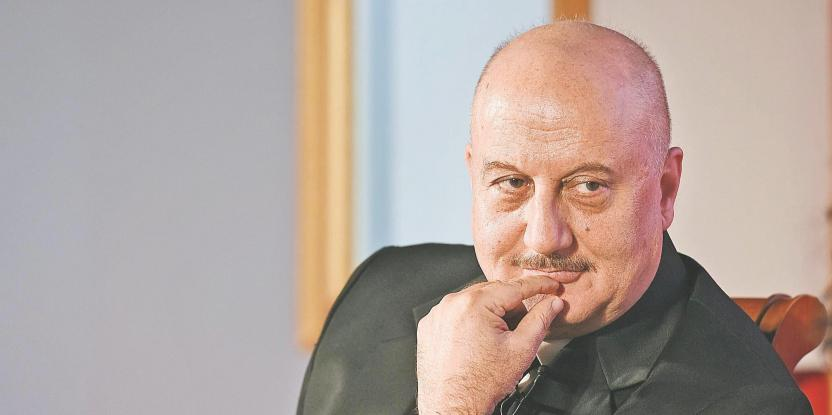 Anupam Kher On His Struggles: I Had to Live on Beaches and Sleep on Platforms